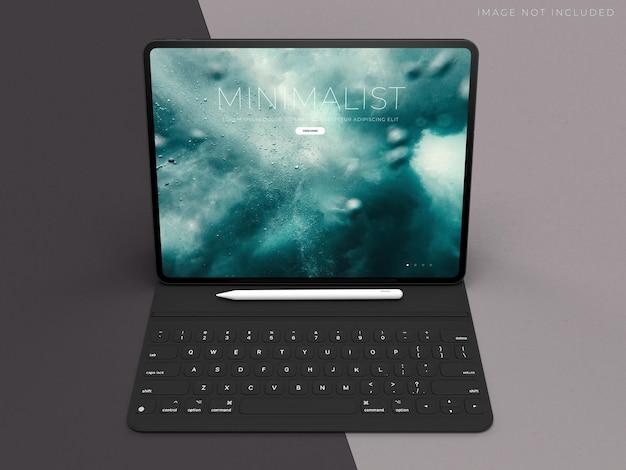 Tablet mockup for branding identity