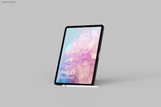Дизайн макета планшета в 3d-рендеринге