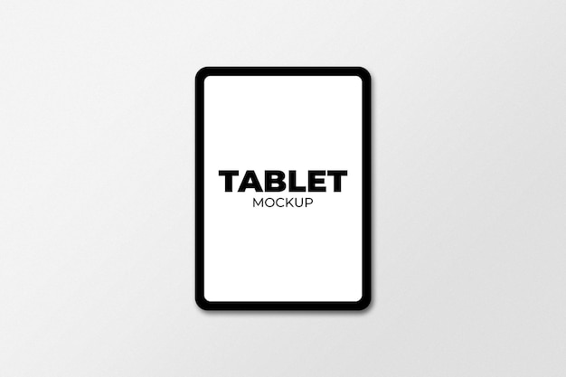 Tablet mockup isolated