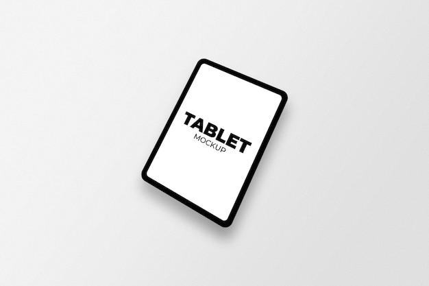 고립 된 태블릿 이랑
