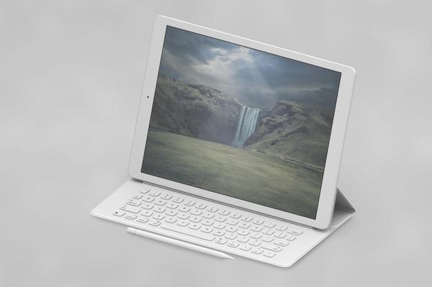 태블릿 모형