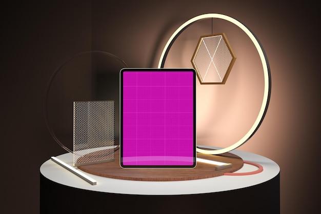 Tablet neon