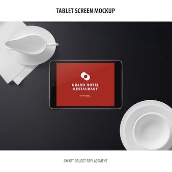 タブレット画面モックアップ