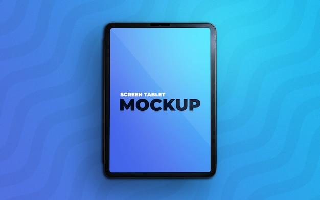 Мокап экрана планшета