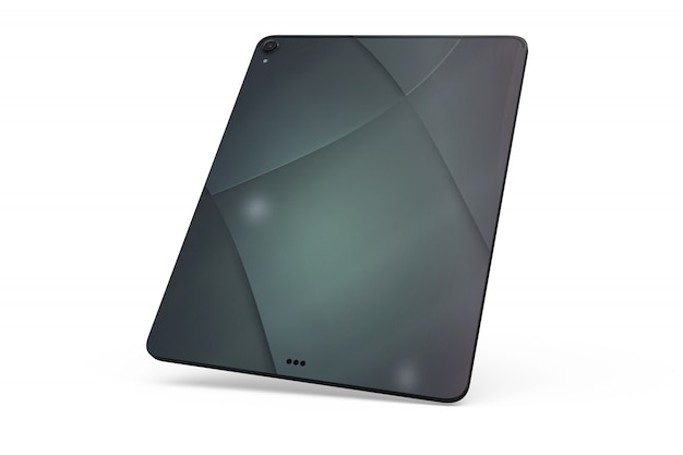 Tablet skin mock-up isolated Free Psd