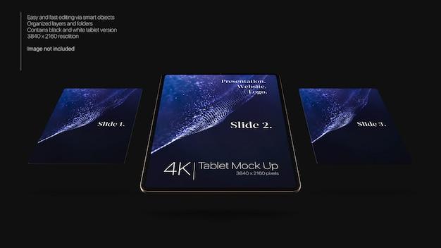 Tablets mock up