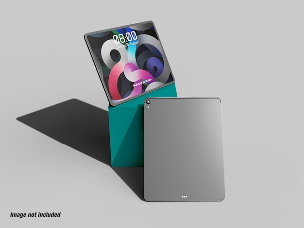 Ui ux 목업용 태블릿 또는 패드 화면