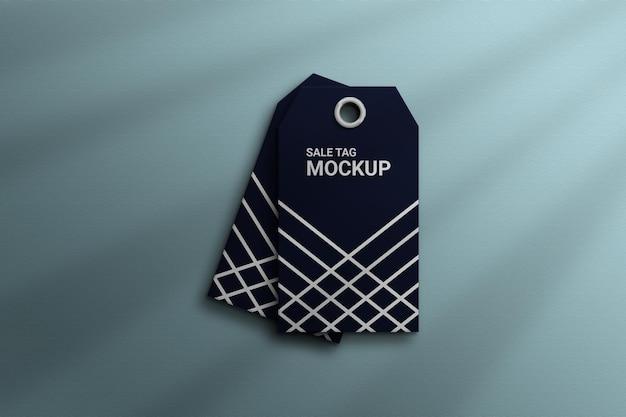 Tag  hang tag product label  mockup  photoshop