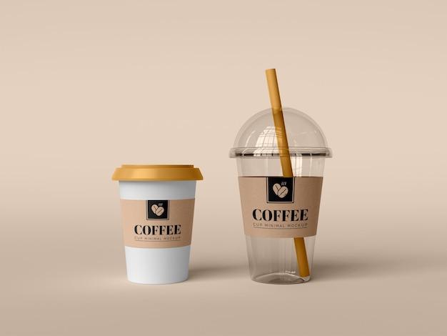 拿走咖啡杯模型