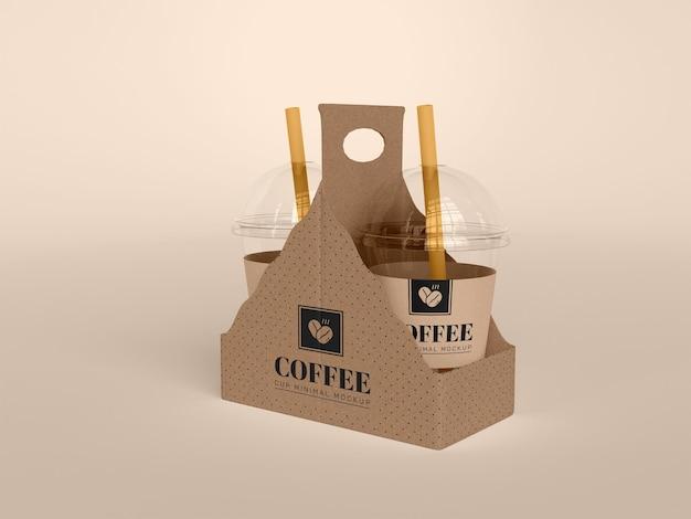 Take away coffee cup mockup