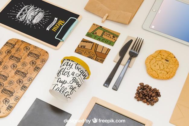 Take away food composition