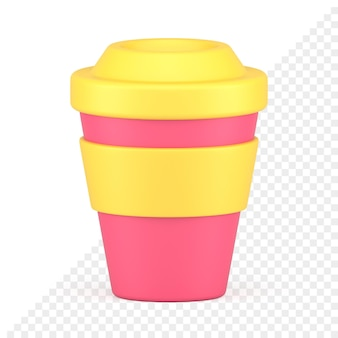 Takeaway cup 3d icon