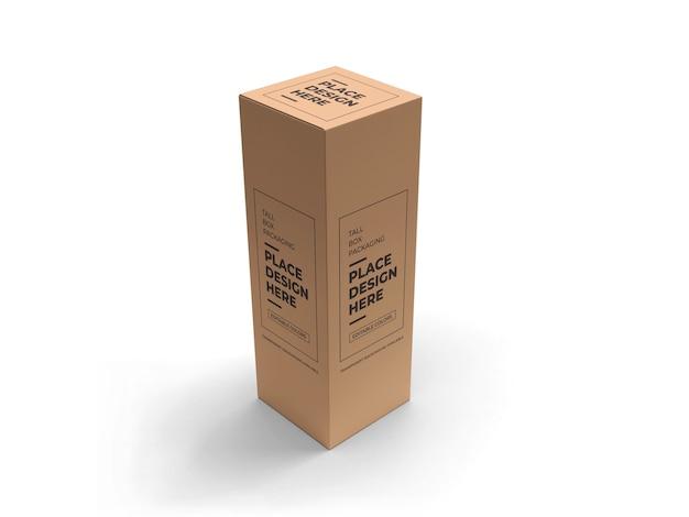 키 큰 상자 포장 이랑 디자인 절연