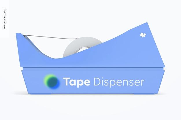 テープディスペンサーモックアップ、正面図
