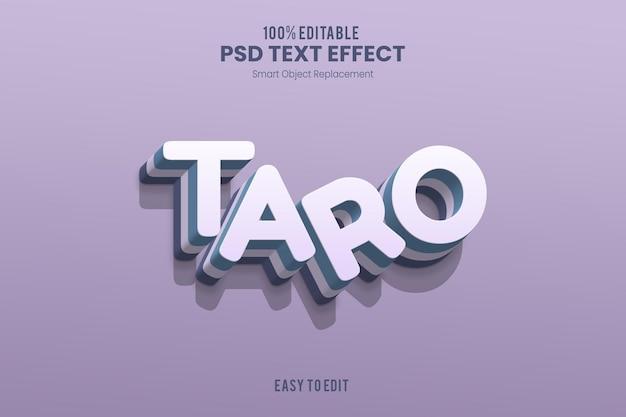 Эффект tarotext