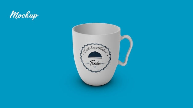 Tea cup mug mock up