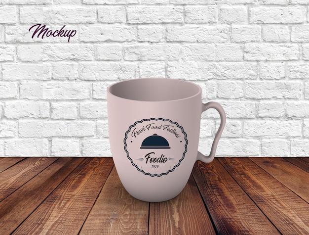 Tea cup mug mock up