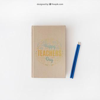 教師の日のモックアップ