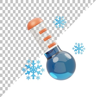 Температура 3d иллюстрация
