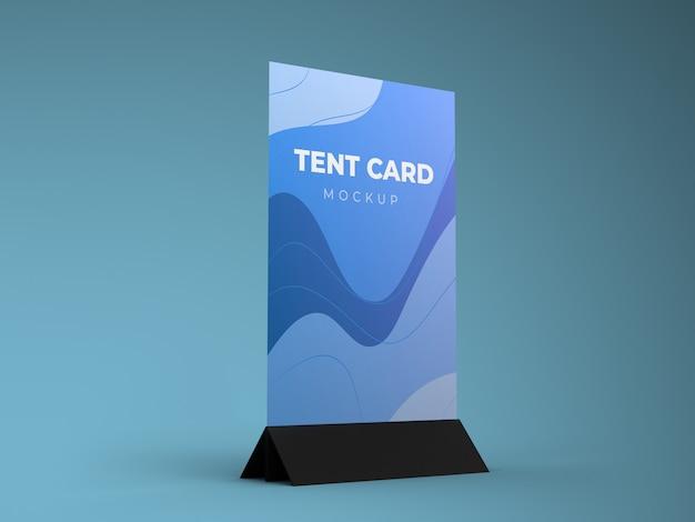 Tent card mockup template