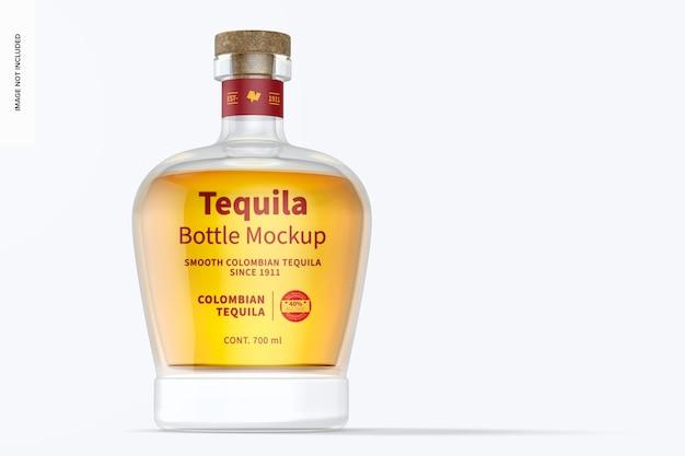 Mockup di bottiglia di tequila