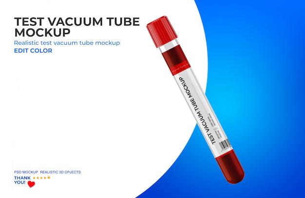 Test vacuum tube mockup
