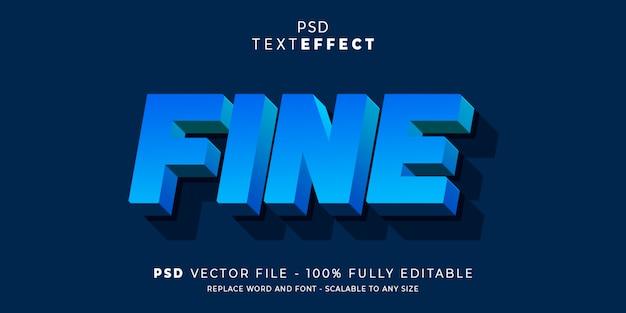 テキストとフォントの効果スタイル編集可能なテンプレート