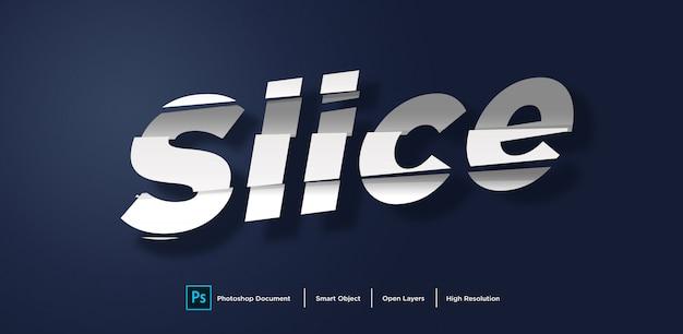 Text effect design