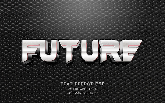 Text effect future design