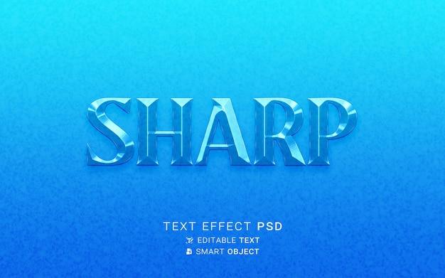 Design in vetro effetto testo