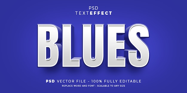 Text and font effect style editable template