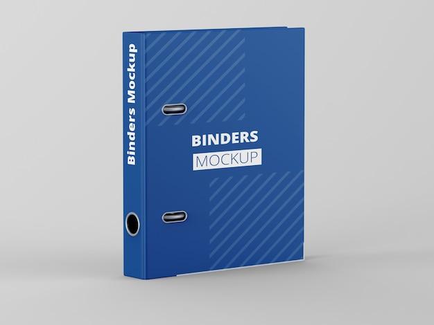 Textured binder mockup