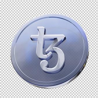 테조스 동전 3d 그림