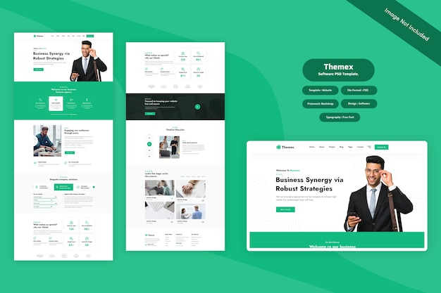 Themex - business web template