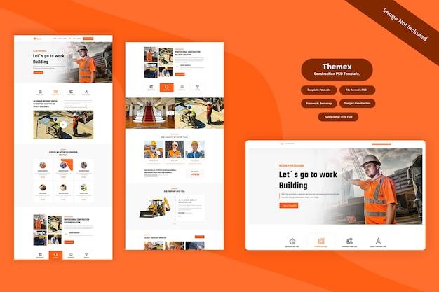 Themex - construction web template