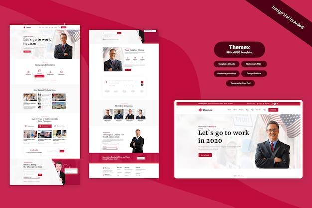 Themex - politic web template