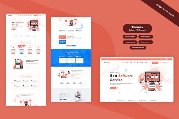 Themex - software it web template