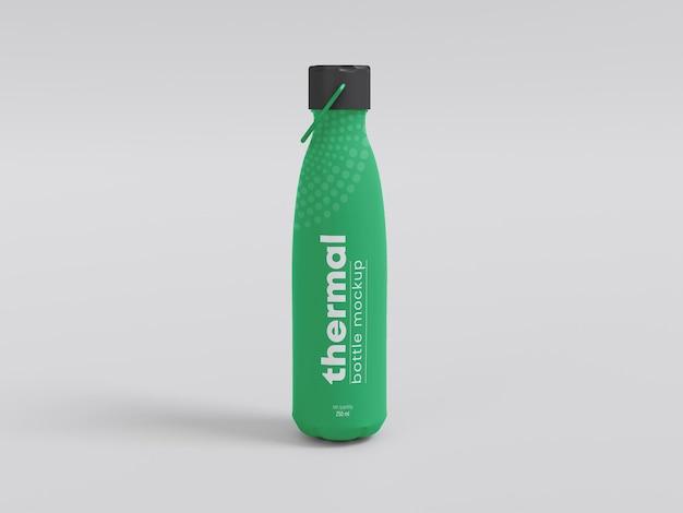 温水ボトルのモックアップ