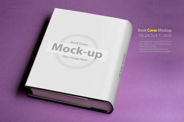 Толстая книга с пустой обложкой, макет