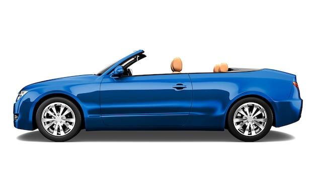 Three dimensional image of car