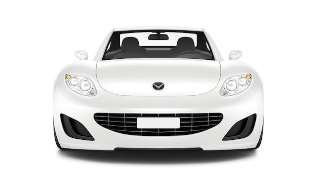 車の立体画像