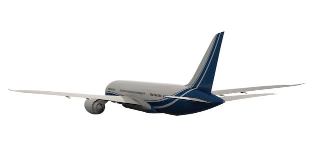 Three dimensional imageof an airplane