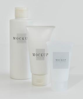 Три типа макетов упаковки для ухода за телом