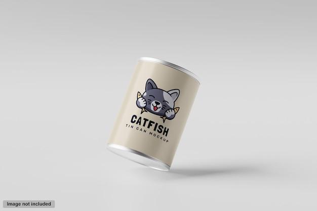 ブリキ缶モックアップ
