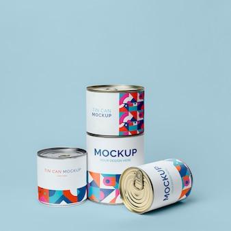 Tin can pop mockup