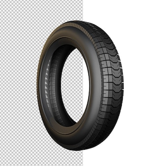 Tire isolated illustration