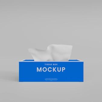 Tissue box mockup
