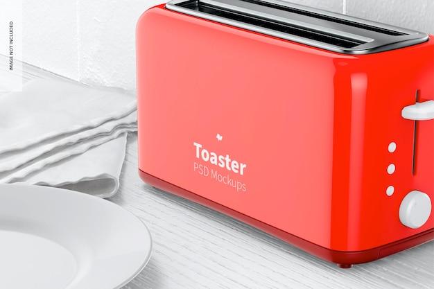 Макет тостера, крупным планом