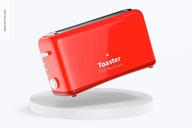 Мокап тостера, падение