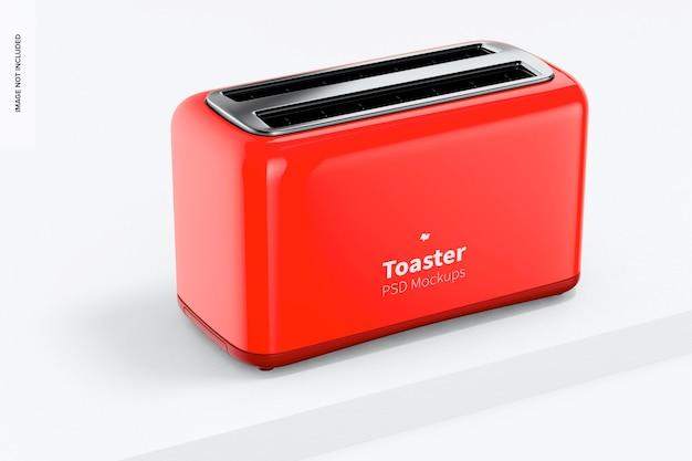 Макет тостера, вид слева